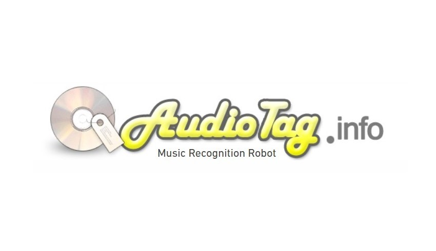 Logo of AudioTag webiste for searching songs