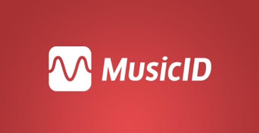 Logo of MusicID app for searching music